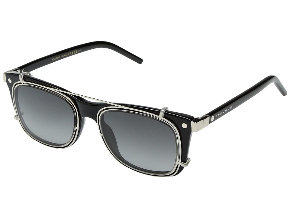 Marc Jacobs - MARC 17/S (Black/Gray Matte Gray) Fashion Sunglasses