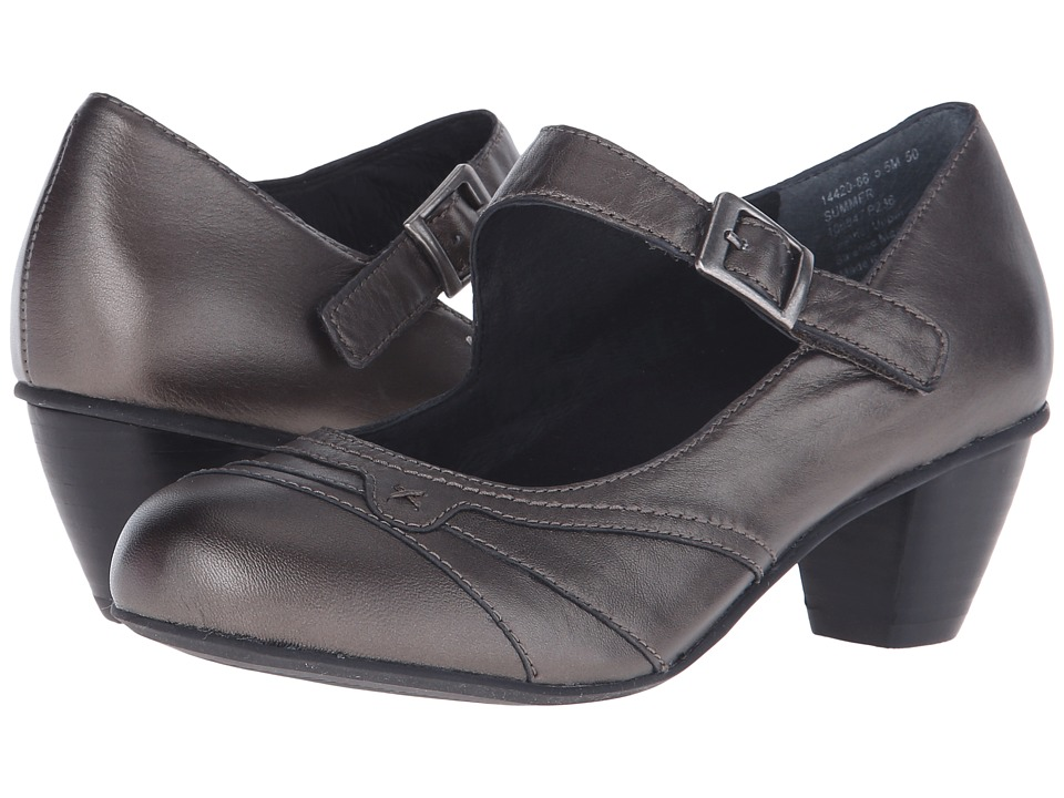 Drew - Summer (Pewter Leather) Women's Maryjane Shoes