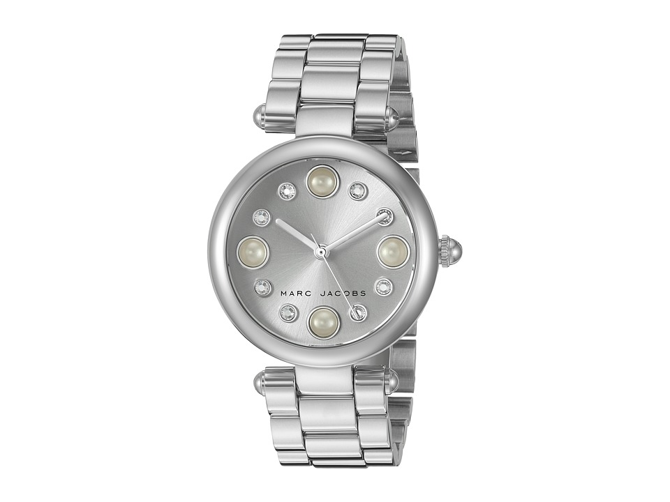 Marc Jacobs - Dotty - MJ3475 (Stainless Steel/Pearl Indexes) Watches
