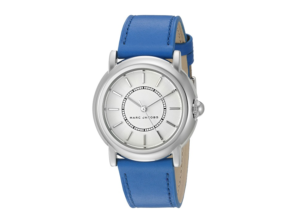 Marc Jacobs - Courtney - MJ1451 (Blue Strap/Stainless Case) Watches
