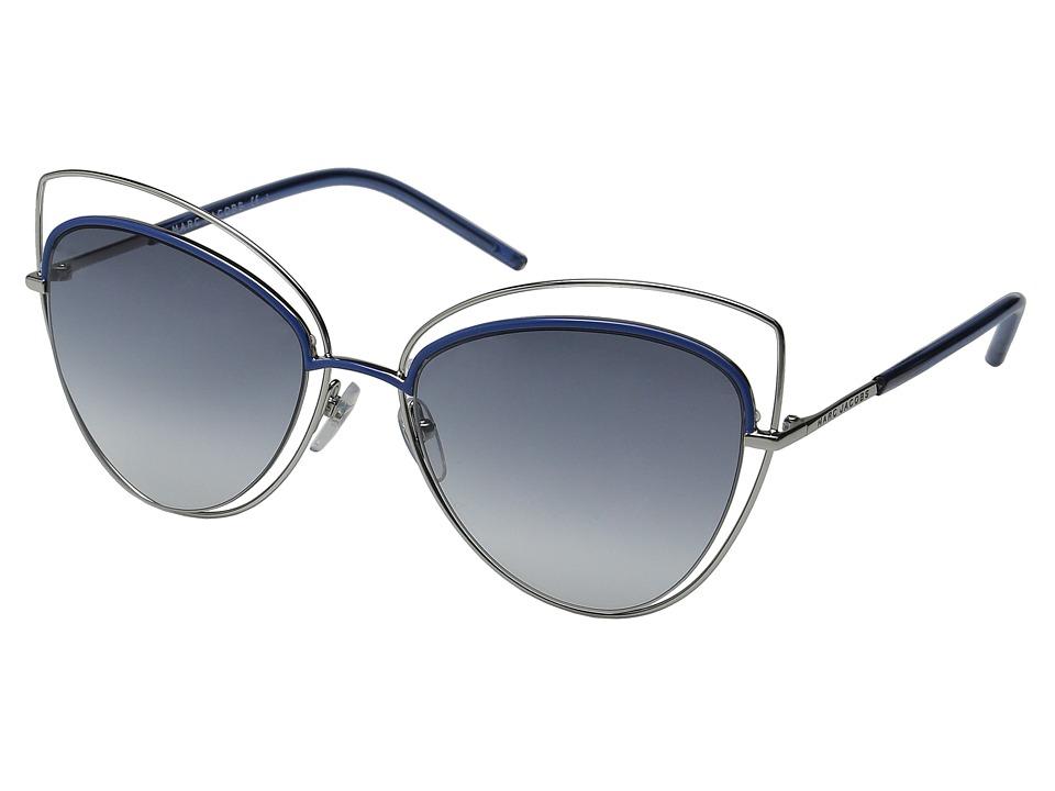 Marc Jacobs - MARC 8/S (Palladium/Gray Gradient) Fashion Sunglasses