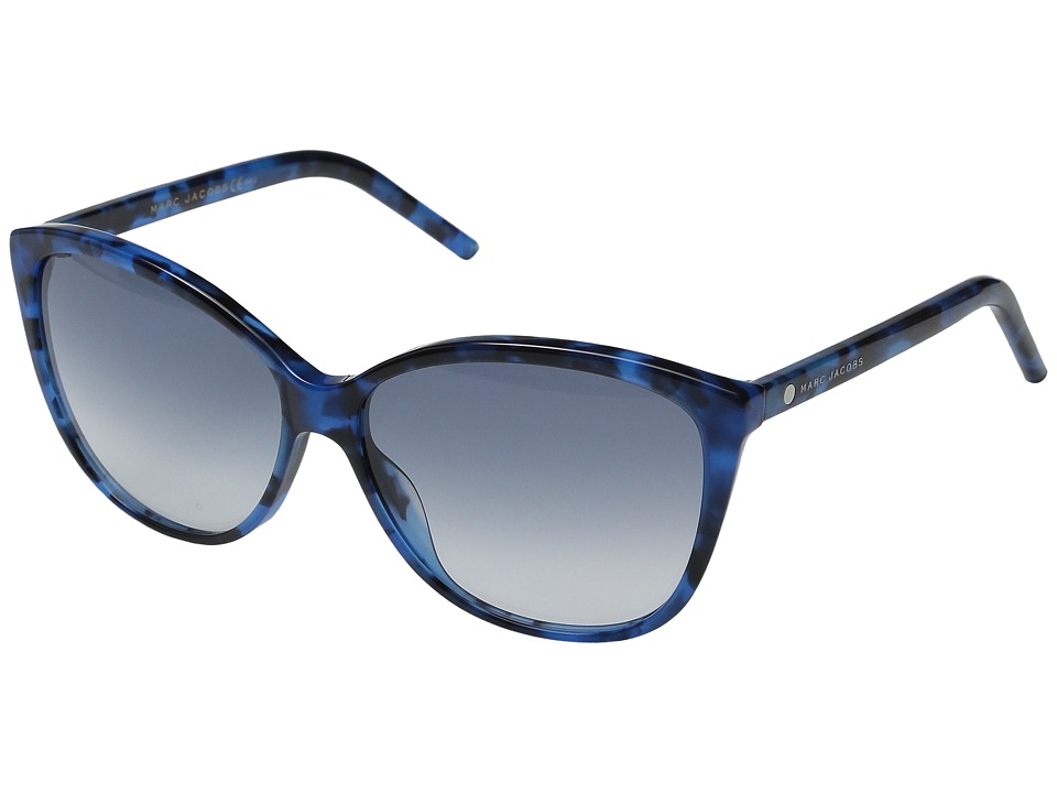 Marc Jacobs - MARC 69/S (Blue Havana/Gray Gradient) Fashion Sunglasses