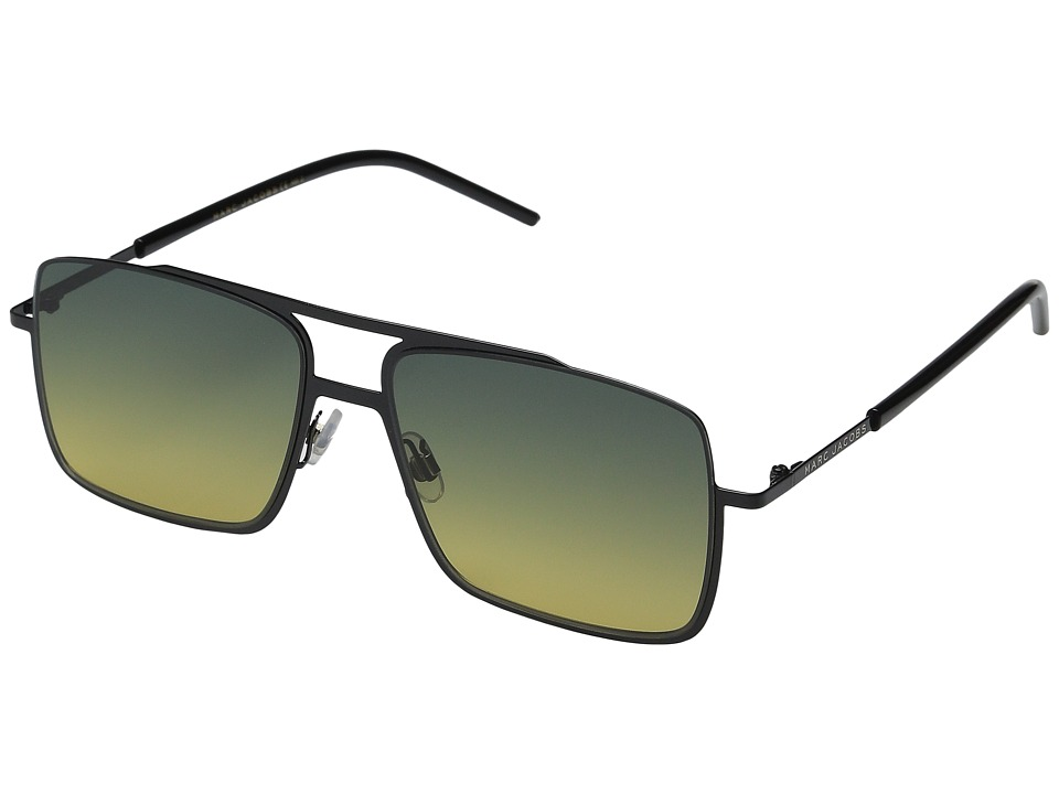 Marc Jacobs - MARC 35/S (Black/Green Yellow) Fashion Sunglasses