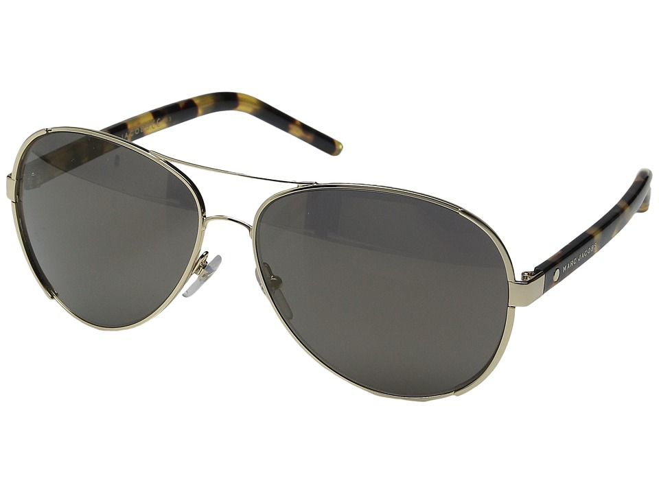 Marc Jacobs - MARC 66/S (Gold/Gunmetal Mirror) Fashion Sunglasses