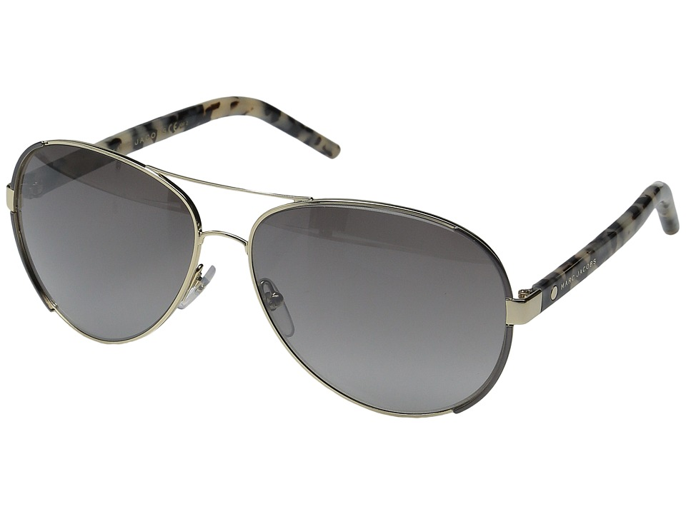 Marc Jacobs - MARC 66/S (Gold Dark Ruthenium/Grey Mirror Silver) Fashion Sunglasses