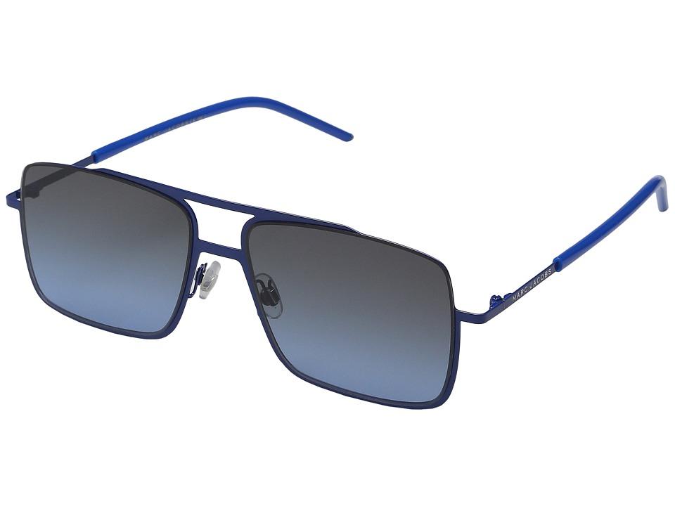 Marc Jacobs - MARC 35/S (Blue/Gray Blue) Fashion Sunglasses