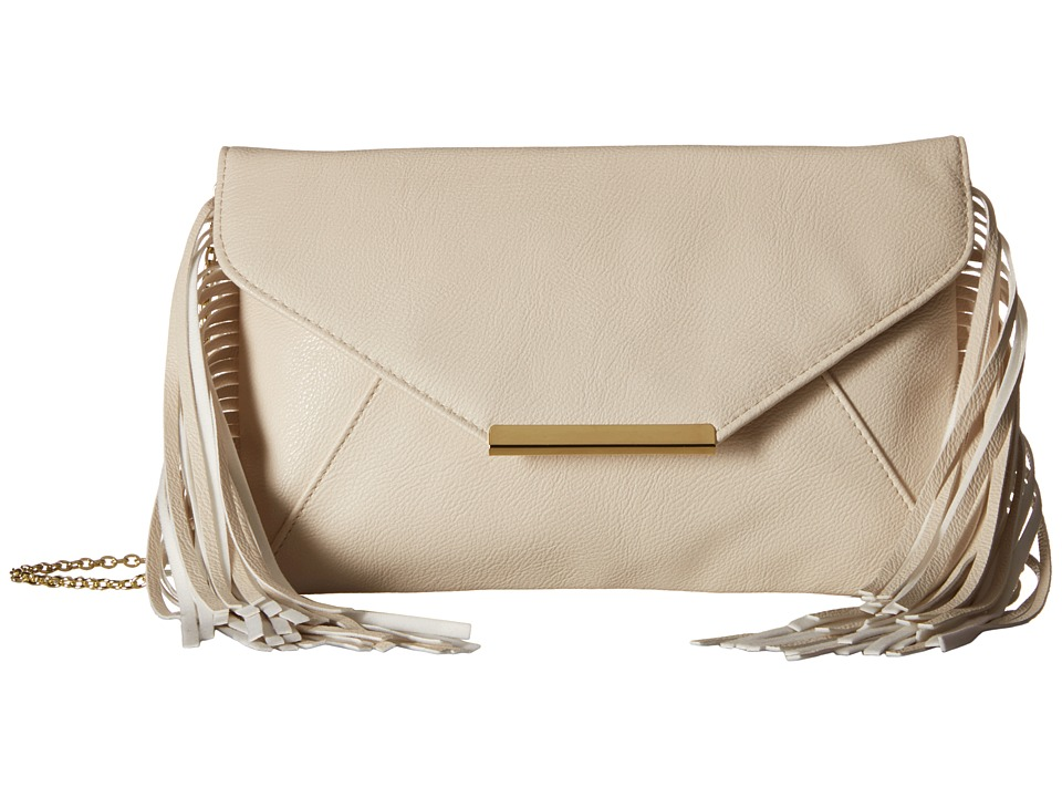 Jessica McClintock - Allison Fringe (Bone) Handbags