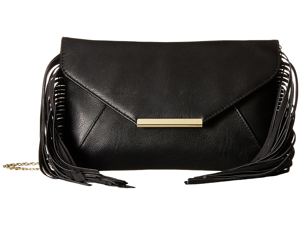 Jessica McClintock - Allison Fringe (Black) Handbags