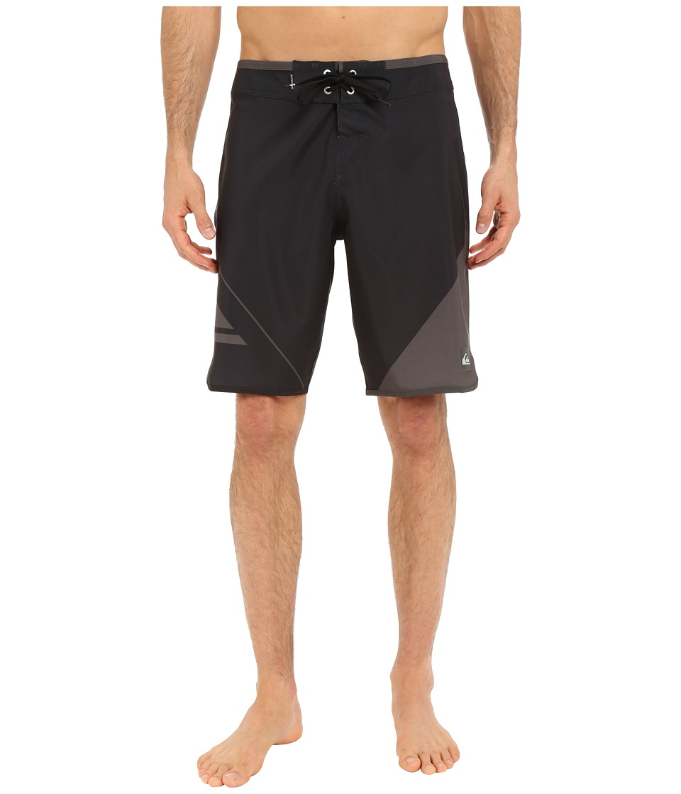 Quiksilver - New Wave 20 Boardshorts (Black) Men's Swimwear
