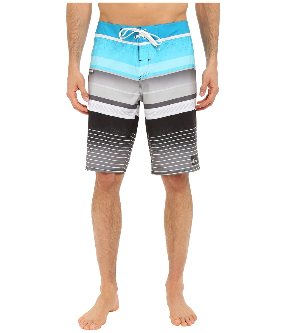 Quiksilver - Everyday Stripe 21 Boardshorts (Hawaiian Ocean) Men's Swimwear
