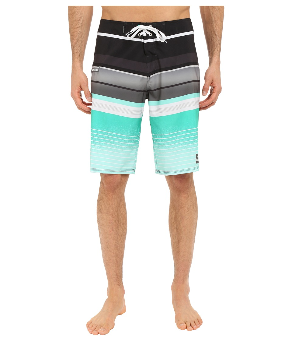 Quiksilver - Everyday Stripe 21 Boardshorts (Tarmac) Men's Swimwear