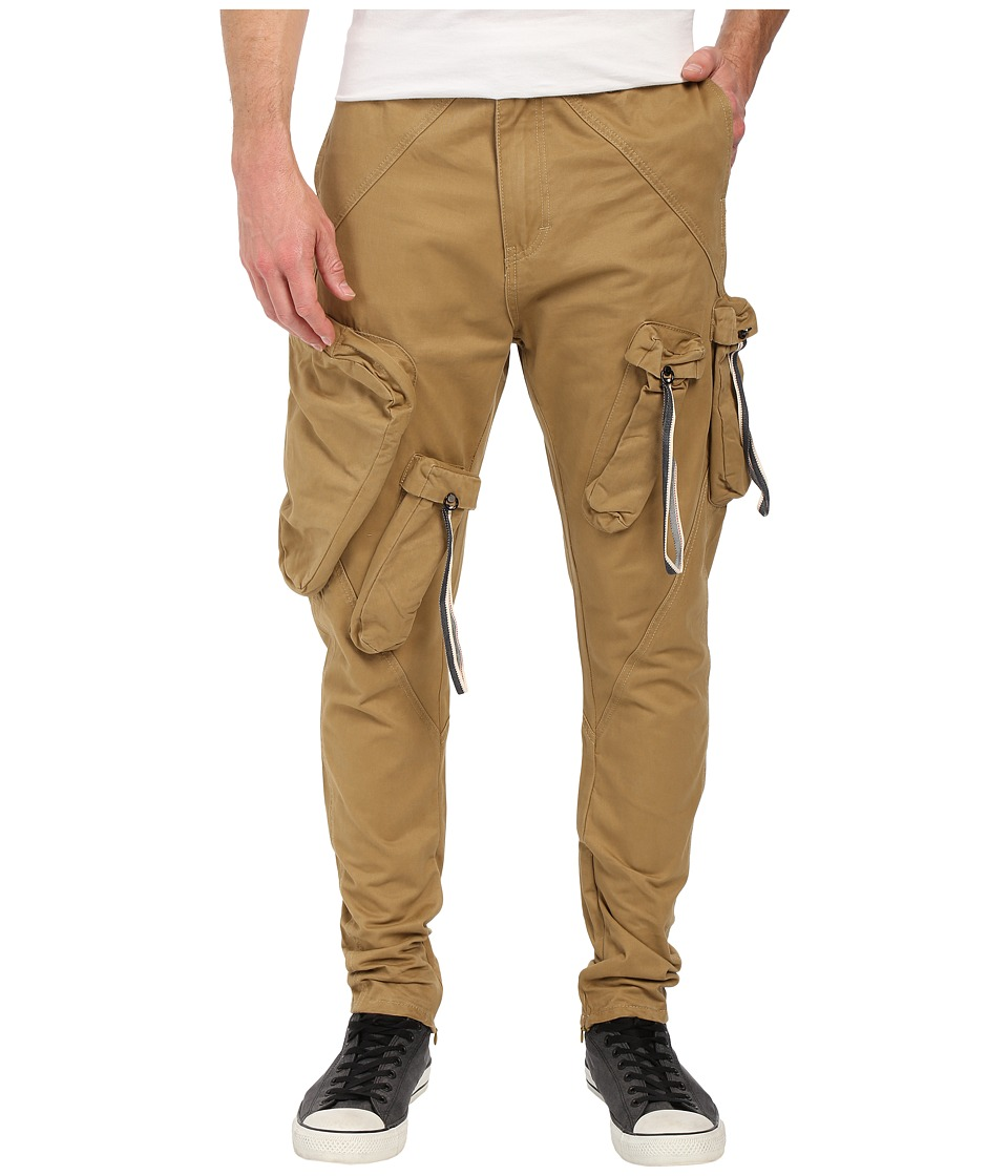 Mostly Heard Rarely Seen - Military Cargo Bottom (Khaki) Men's Clothing