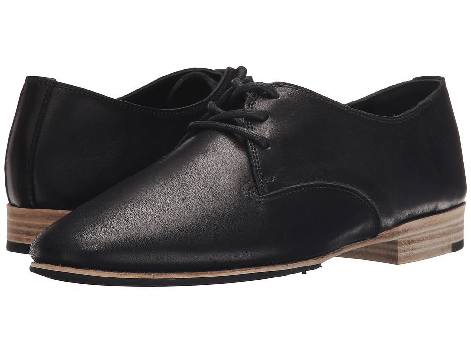 Y's by Yohji Yamamoto - Blucher Low Cut Shoes (Black) Women's Shoes