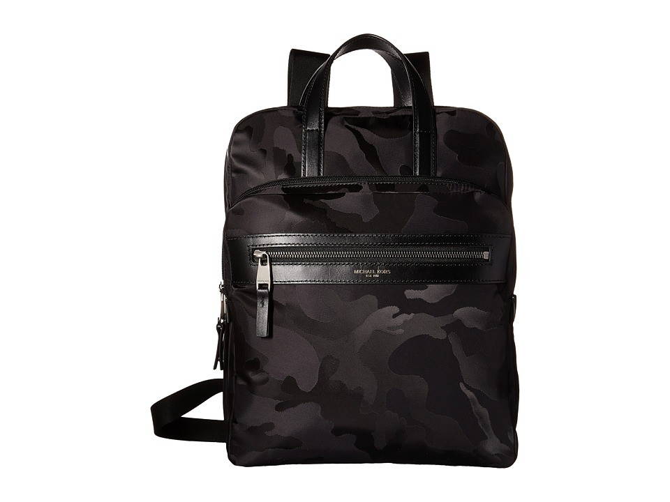 Michael Kors - Kent Medium Flightpack (Black) Bags