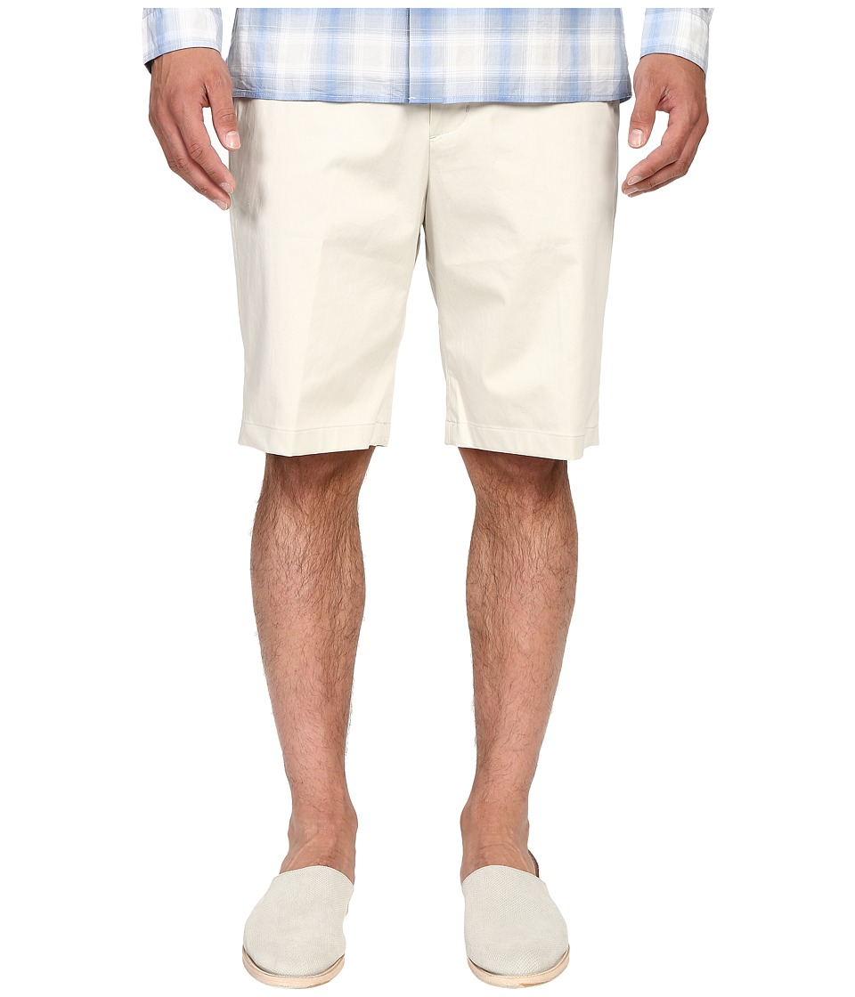 Vince - Cotton Sateen Urban Shorts (Stone) Men's Shorts