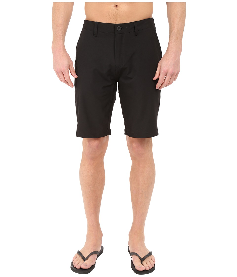 Quiksilver - Every Solid Amphibian 21 Walkshorts (Black) Men's Shorts