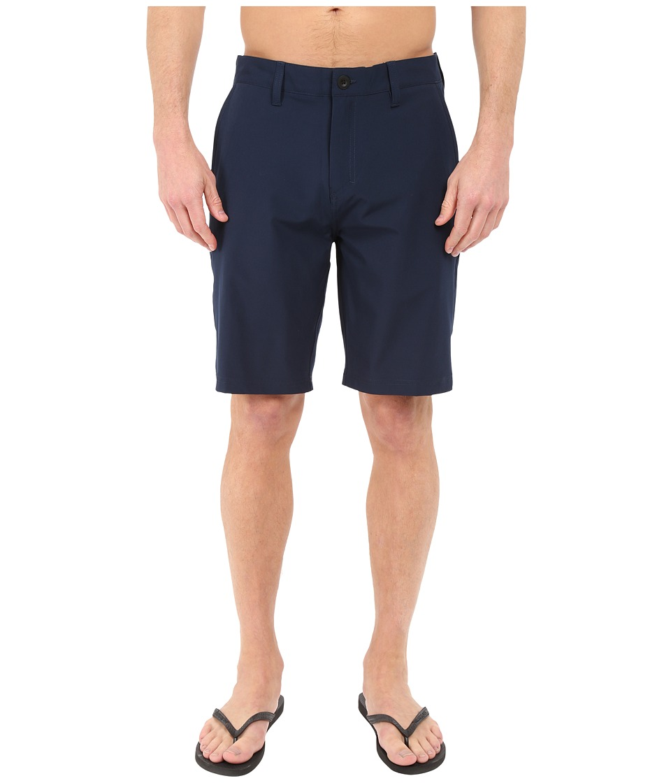 Quiksilver - Every Solid Amphibian 21 Walkshorts (Navy Blazer) Men's Shorts