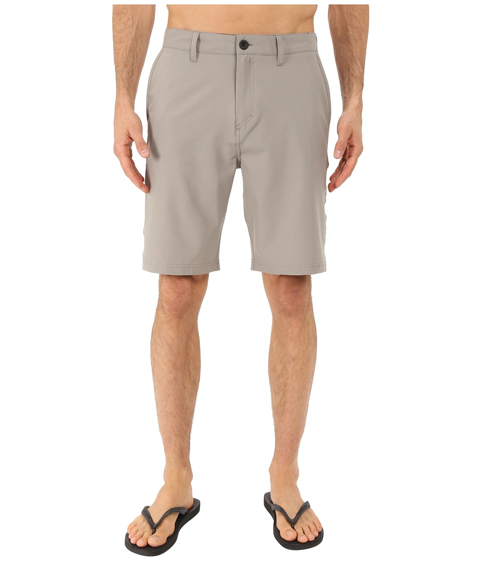 Quiksilver - Every Solid Amphibian 21 Walkshorts (Steeple Gray) Men's Shorts