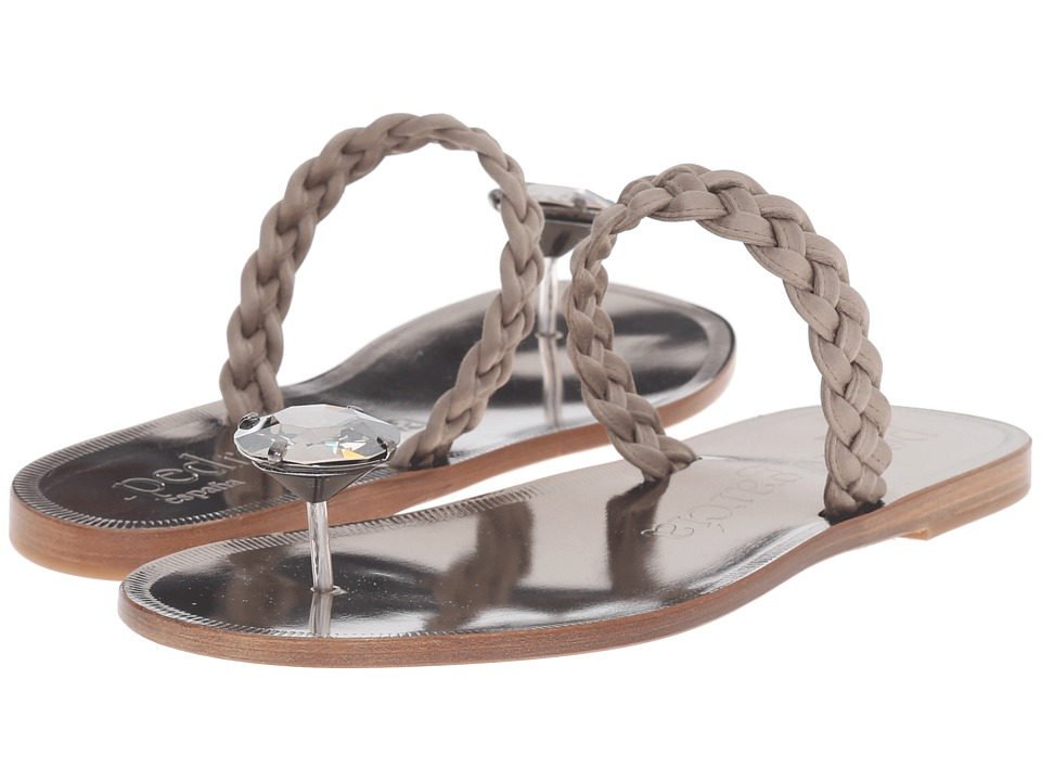 Pedro Garcia - Zaira (Pyrite Satin) Women's Sandals
