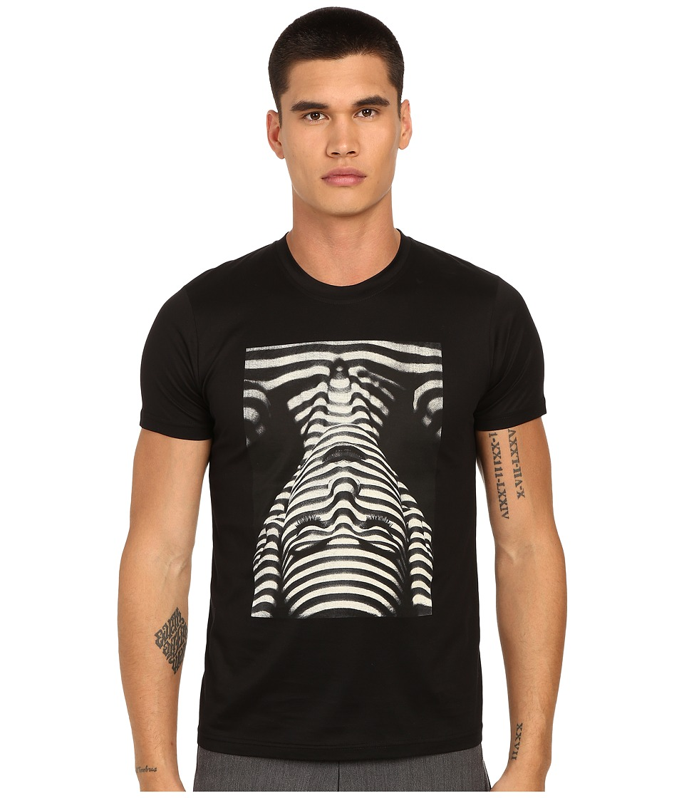 PRIVATE STOCK - The Ripple T-Shirt (Black) Men's T Shirt