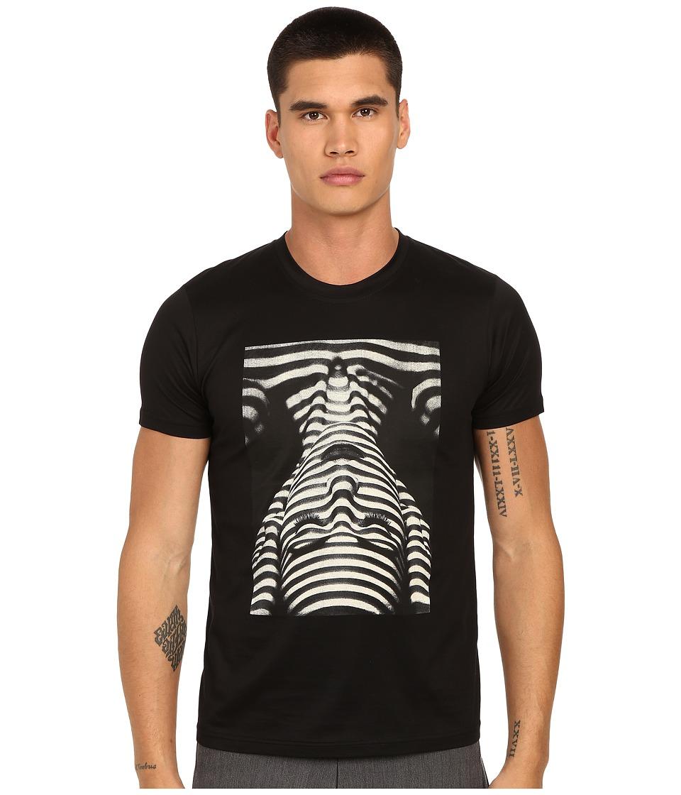 PRIVATE STOCK - The Ripple T-Shirt (Black) Men's T Shirt