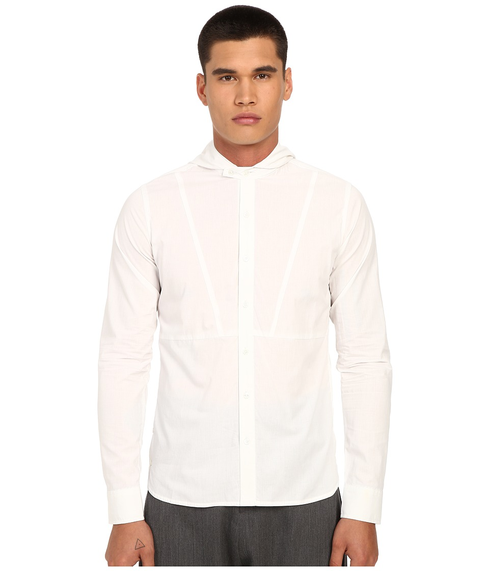 PRIVATE STOCK - The Forthcoming Shirt (White) Men's Long Sleeve Button Up