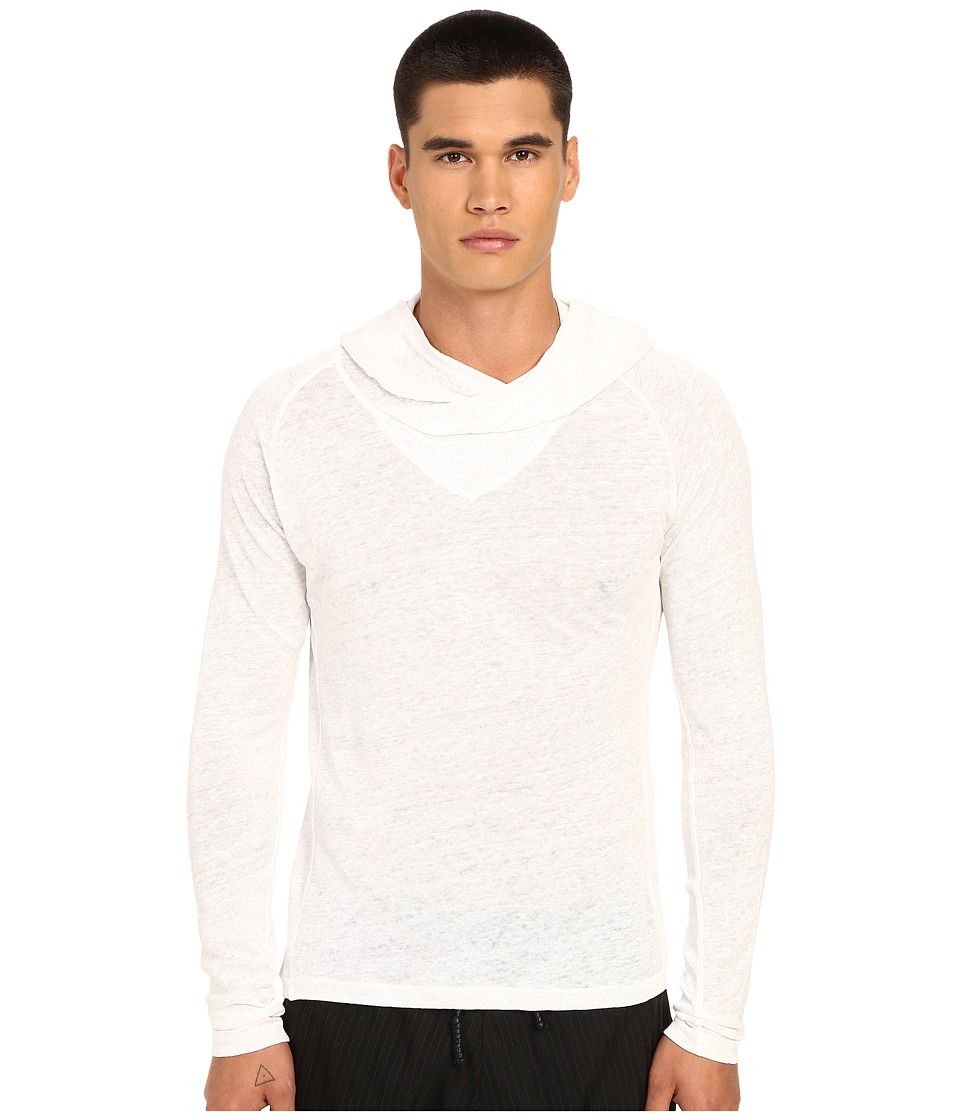 PRIVATE STOCK - The Pol Long Sleeve T-Shirt (White) Men's T Shirt