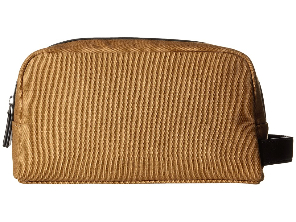 Michael Kors - Grant Toiletry Holder (Dark Camel) Toiletries Case