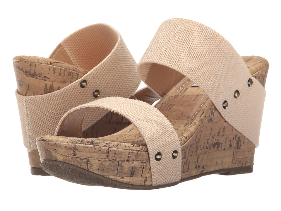 Esprit - Fabulous-EP (Nude) Women's Wedge Shoes