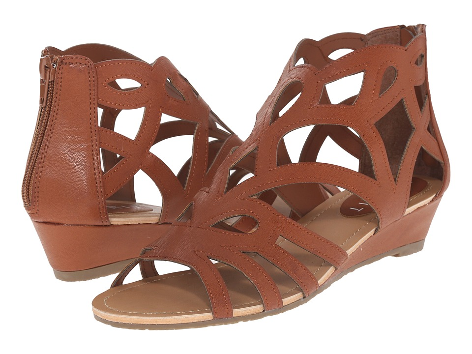 Esprit - Chai-E (Cognac) Women's Wedge Shoes