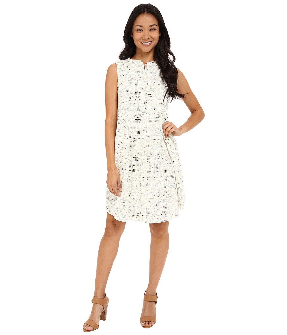 Lilla P Crinkle Cotton Sleeveless ShirtDress