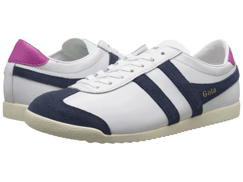 Gola - Bullet Leather (White/Navy) Women's Shoes