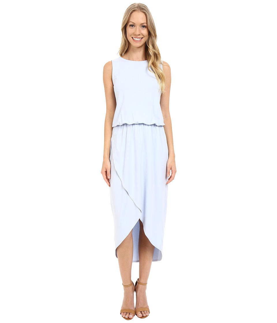 Lilla P - Stretch Jersey Tulip Hem Dress (Seabreeze) Women's Dress
