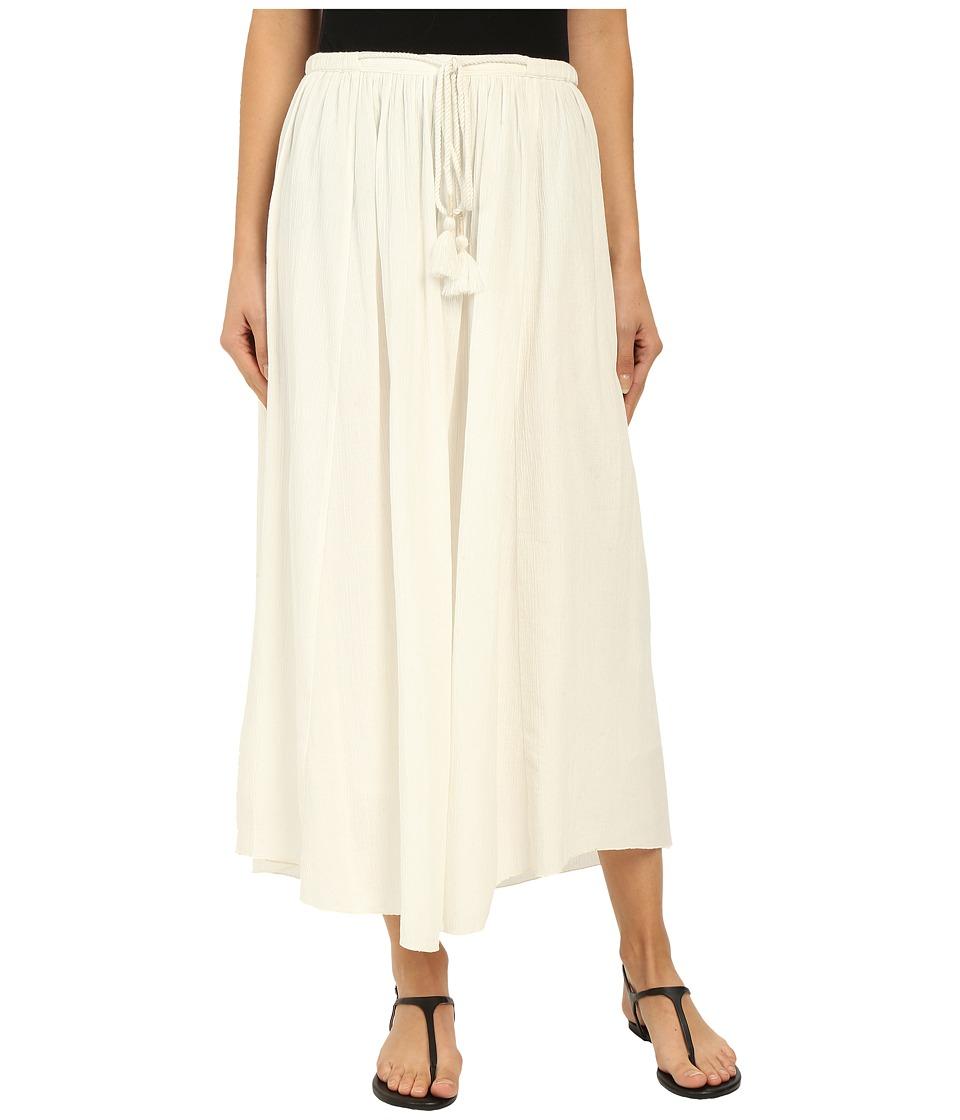 Lilla P - Crinkle Cotton Maxi Skirt (Sand) Women's Skirt