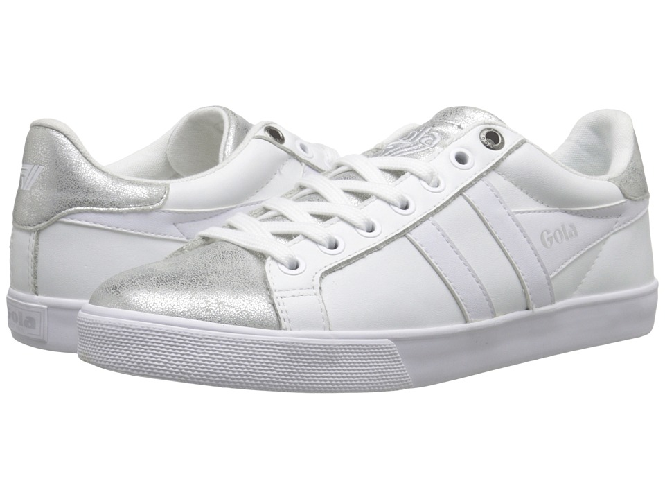 Gola - Orchid Metallic (White/Silver) Women's Shoes