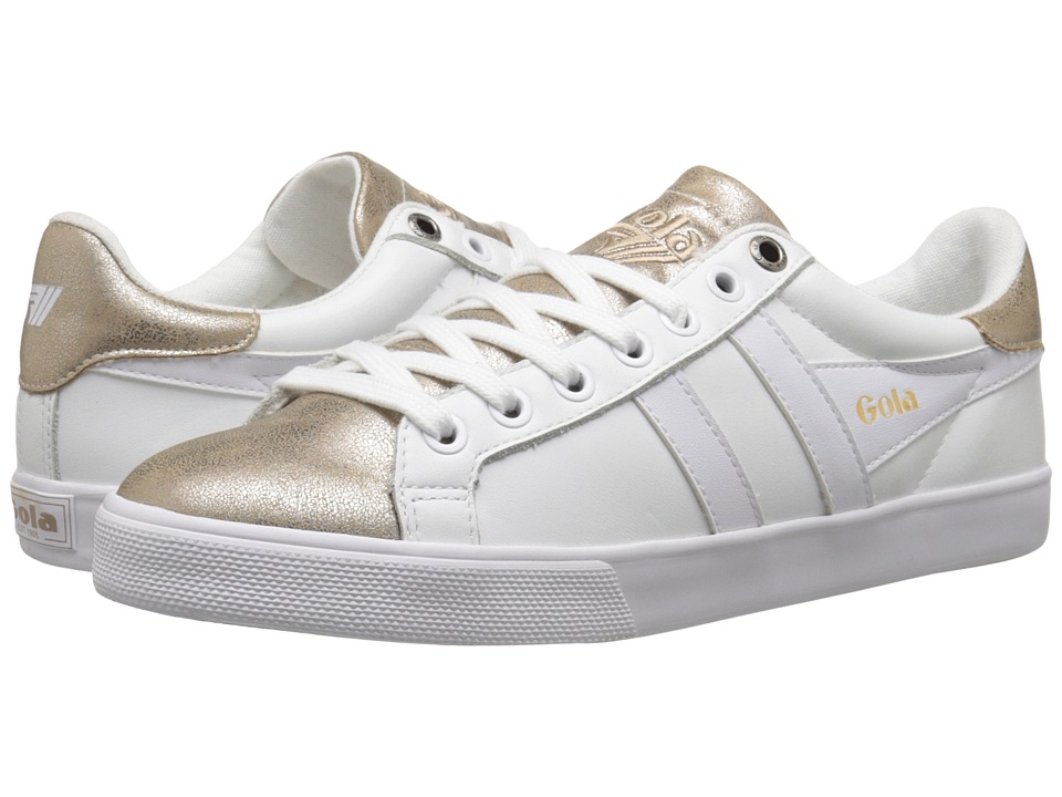 Gola - Orchid Metallic (White/Gold) Women's Shoes