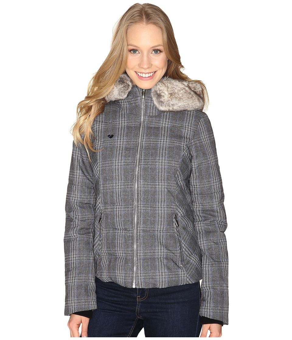 Obermeyer - Bombshell Jacket Special Edition (Plaid Heather) Women's Coat