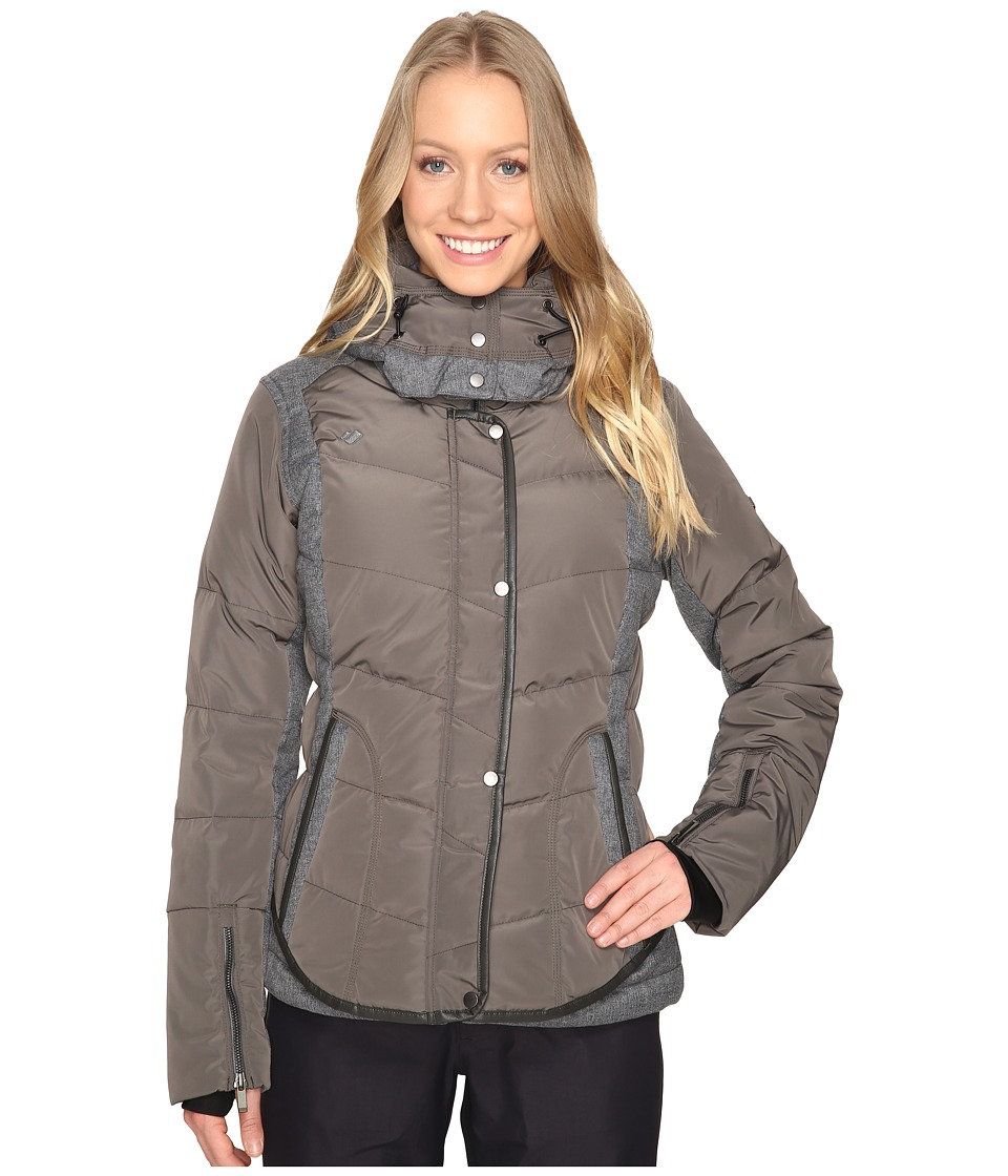 Obermeyer - Payton Down Jacket (Ironwood) Women's Coat