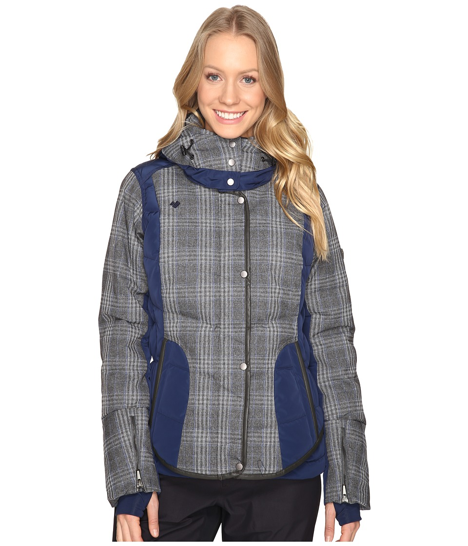 Obermeyer - Payton Down Jacket (Storm Cloud) Women's Coat