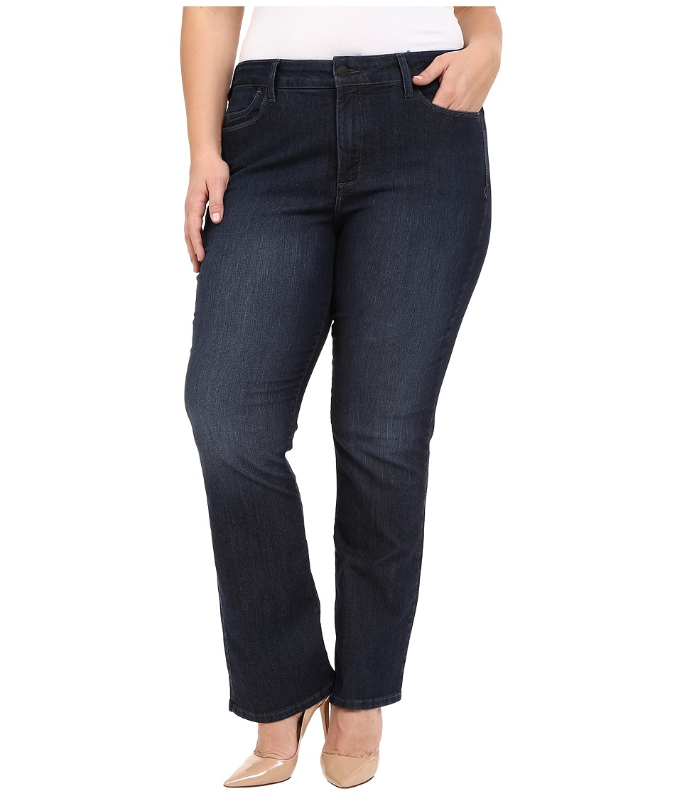 NYDJ Plus Size - Plus Size Billie Mini Boot in Burbank (Burbank) Women's Jeans