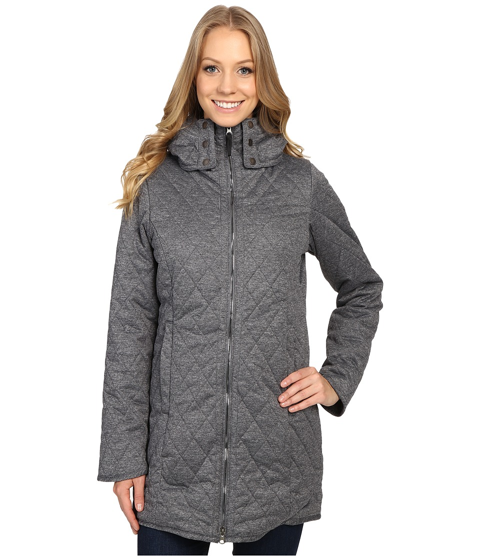 Obermeyer - Desi Long Insulator (Dark Heather Grey) Women's Clothing