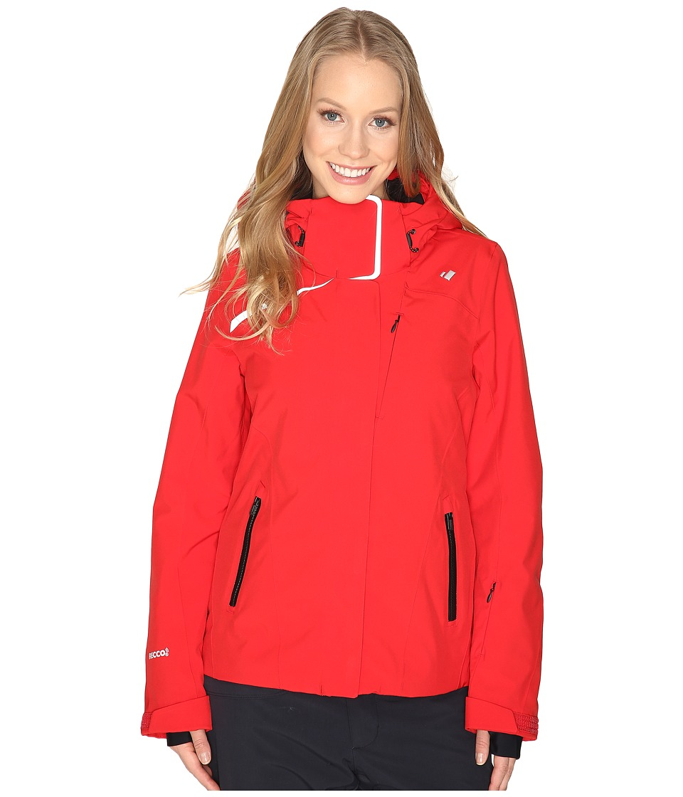 Obermeyer - Zermatt Jacket (Crimson) Women's Coat