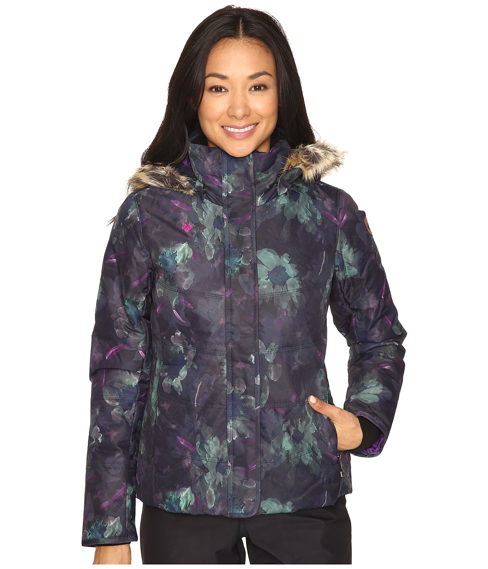 Obermeyer - Tuscany Jacket (Night Floral) Women's Coat
