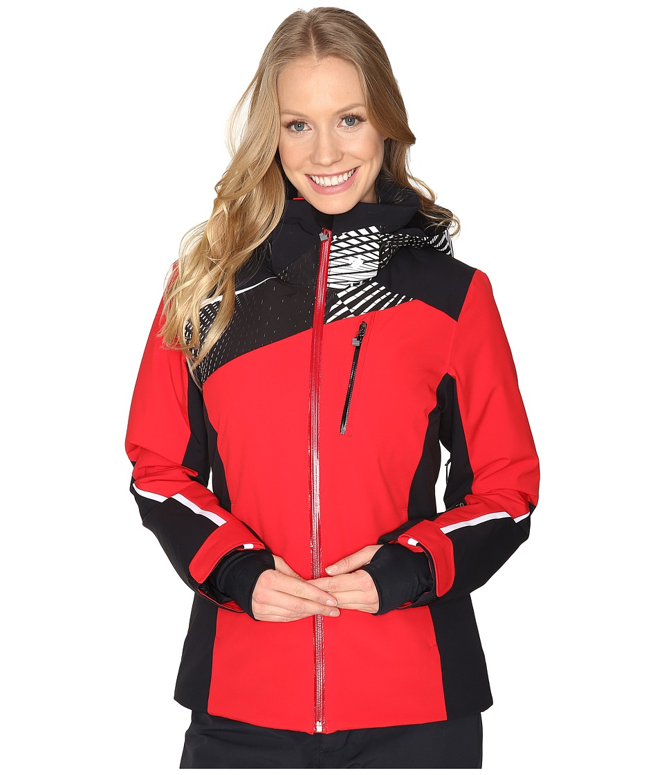 Obermeyer - Kitzbuhel Jacket (Crimson) Women's Coat