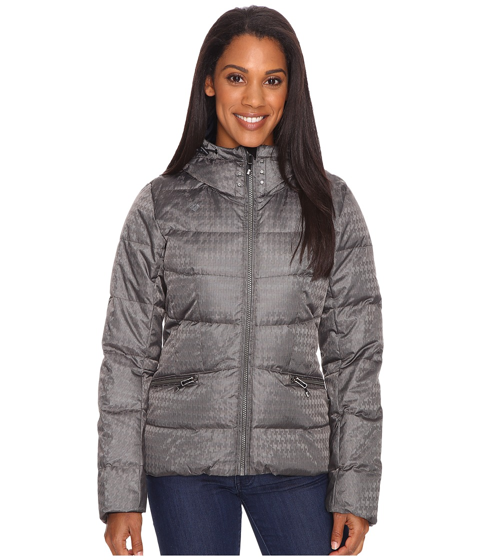 Obermeyer - Charisma Down Jacket (Houndstooth) Women's Coat