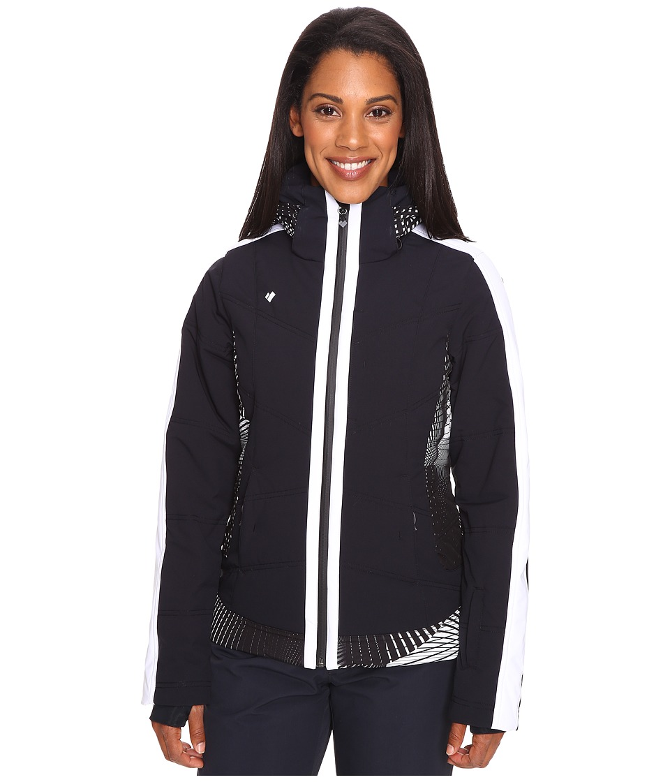 Obermeyer - Chamonix Jacket (Black) Women's Coat