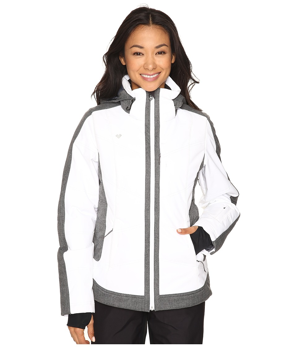 Obermeyer - Chamonix Jacket (White) Women's Coat