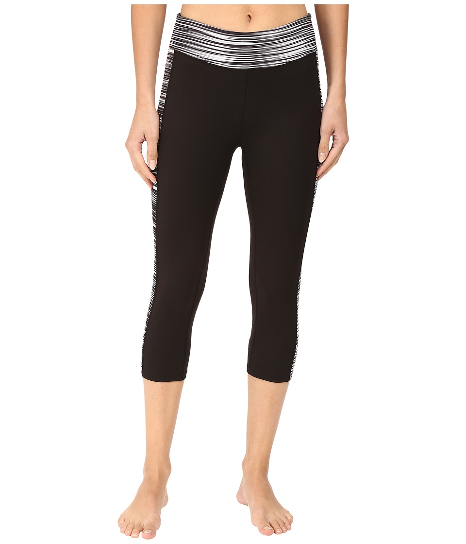 Soybu - Toni Capris (Black Wave) Women's Capri