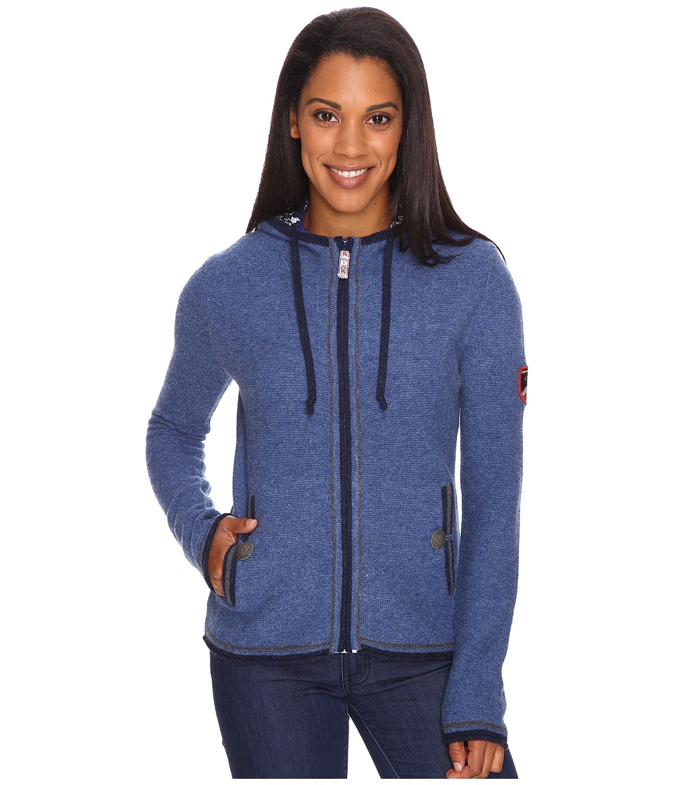 Obermeyer - Charlie Knit Hoodie (Storm Cloud) Women's Sweatshirt