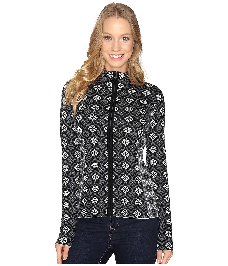 Obermeyer - Jenny Knit Cardigan (Black) Women's Sweater